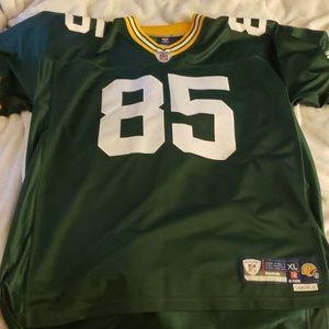 Greg Jennings Green Bay Packers On Field Jersey